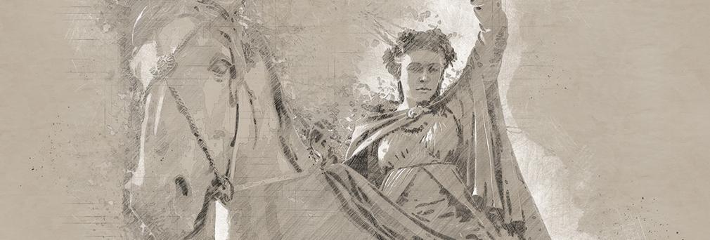 'Fine Lady' Illustration