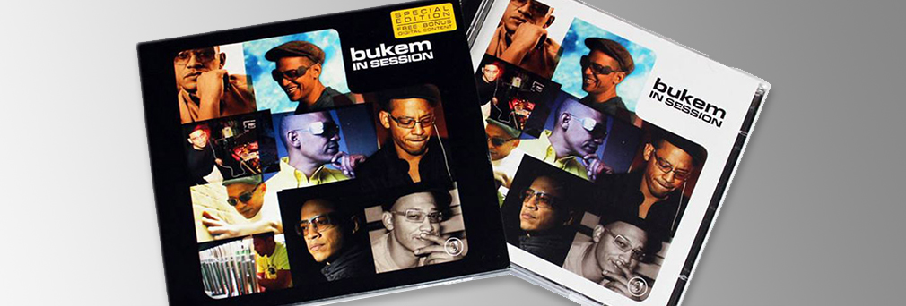 LTJ Bukem 'InSession' CD